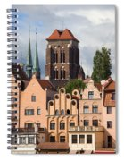 Historic Houses In Gdansk Spiral Notebook