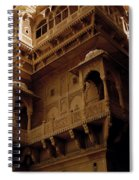 Historic India Spiral Notebook