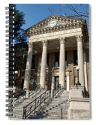 Historic Limestone County Courthouse In Athens Alabama Spiral Notebook