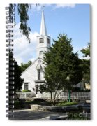 Historic Mystic Church - Connecticut Spiral Notebook