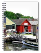 Historic Mystic Seaport Spiral Notebook