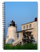 Historic Piney Point Lighthouse Spiral Notebook