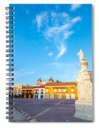 Historic Plaza In Cartagena Colombia Spiral Notebook