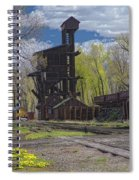 Historic Railroad Spiral Notebook