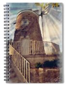 Historic Schonhoff Dutch Mill Spiral Notebook