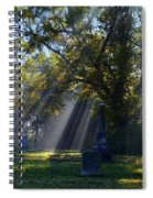 Historic Sibley Cemetery At Fort Osage Missouri Spiral Notebook