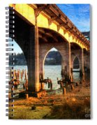 Historic Siuslaw River Bridge Spiral Notebook