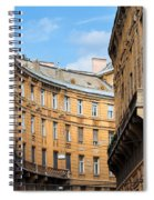 Historic Tenement Houses In Budapest Spiral Notebook
