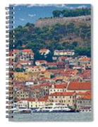 Historic Town Of Sibenik Panorama Spiral Notebook