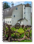 Historic Uniontown Washington Dairy Barn Spiral Notebook