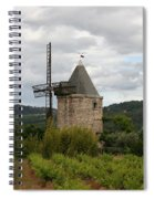 Historic Windmill Spiral Notebook