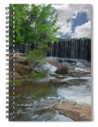 Historic Yates Mill Dam - Raleigh N C Spiral Notebook