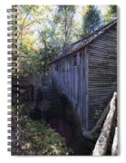 Historical 1868 Cades Cove Cable Mill Spiral Notebook