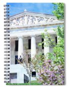 Historical Museum In Spring Spiral Notebook