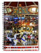 Historical Carousel In Tennessee Spiral Notebook