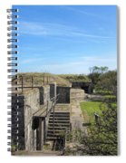 Historical Fort Wool Virginia Landmark Spiral Notebook