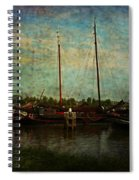 Historical Harbor Woudrichem The Netherlands Spiral Notebook