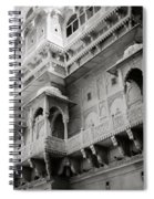 The History Of Rajasthan Spiral Notebook