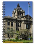 Historical Montesano Courthouse Spiral Notebook