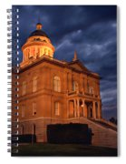Historical Placer County Courthouse Spiral Notebook