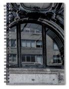 Historical Window Detail Spiral Notebook
