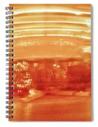 History In Motion At Night Spiral Notebook