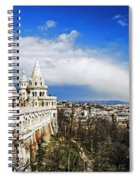 History Of Budapest Spiral Notebook