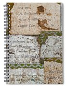 History Of Hill Ward Asylum Spiral Notebook