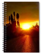 Hit The Road Jack Spiral Notebook