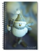 Hit The Slopes Spiral Notebook
