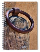 Hitching Post #1 Spiral Notebook