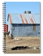 Hitching The Wagon Spiral Notebook