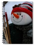 Hitting The Slopes Spiral Notebook