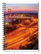 Hk Bridge Spiral Notebook