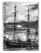 Hms Bounty Singer Island Spiral Notebook