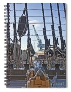 Hms Victory Cannon Spiral Notebook
