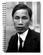 Ho Chi Minh In 1921 Spiral Notebook