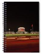 Ho Chi Minh Mausoleum Hanoi Spiral Notebook