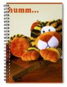 Ho Hummm Tiger Spiral Notebook