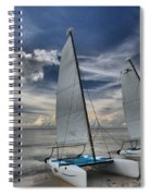 Hobie Cats On The Caribbean Spiral Notebook