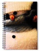 Hobo Snowman Iv Spiral Notebook