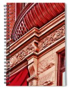 Hoboken Brownstone Art Spiral Notebook
