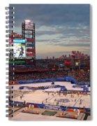 Hockey At The Ballpark Spiral Notebook