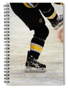 Hockey Dance Spiral Notebook