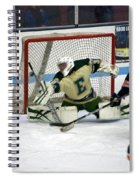 Hockey Off The Handle Spiral Notebook