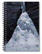Hocking Hills State Park In Winter Spiral Notebook
