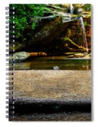 Hocking Hills Waterfall Spiral Notebook