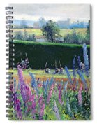 Hoeing Against The Hedge Spiral Notebook
