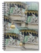 Hofburg Palace Dome Spiral Notebook