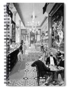 Hoffman House Bar Spiral Notebook